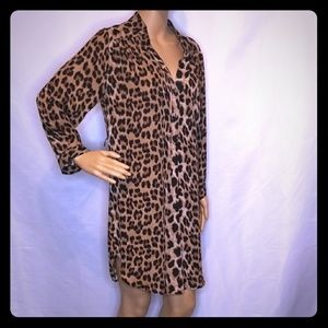 💥🧨💥🐞XTaren Women's Leopard Print Dress Large
